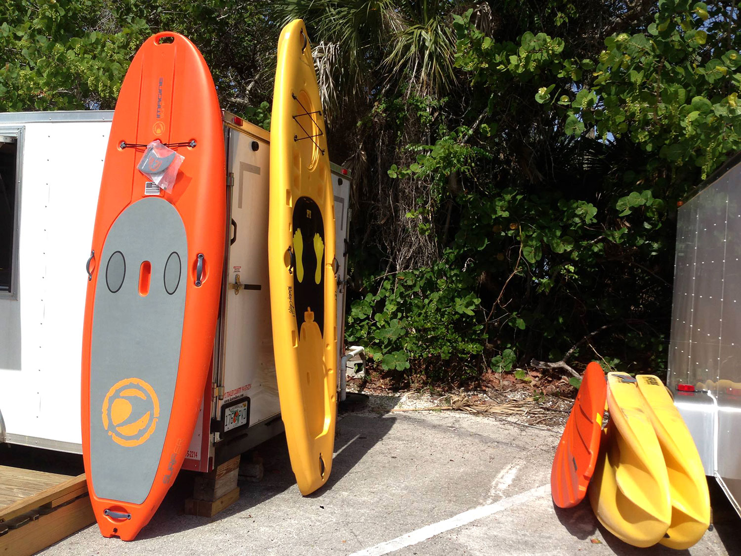 Paddleboards Delnor-Wiggins Pass State Park